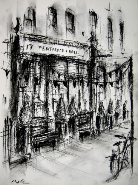 Marc Gooderham, Pentreath & Hall – Sketch on Rugby Street, W1, 2018