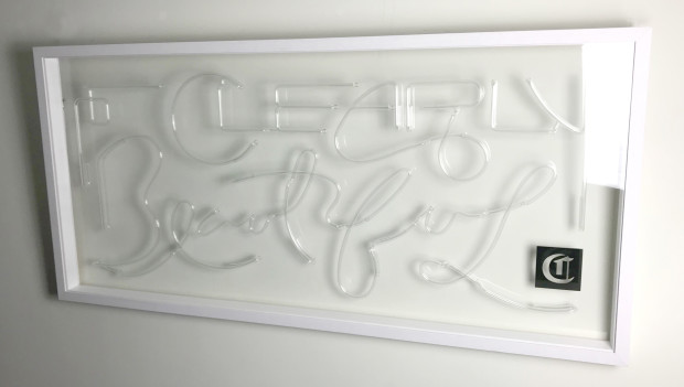 Courty Neon Art, Clearly Beautiful