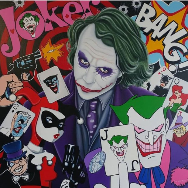 Marie Louise Wrightson, The Joker, 2021