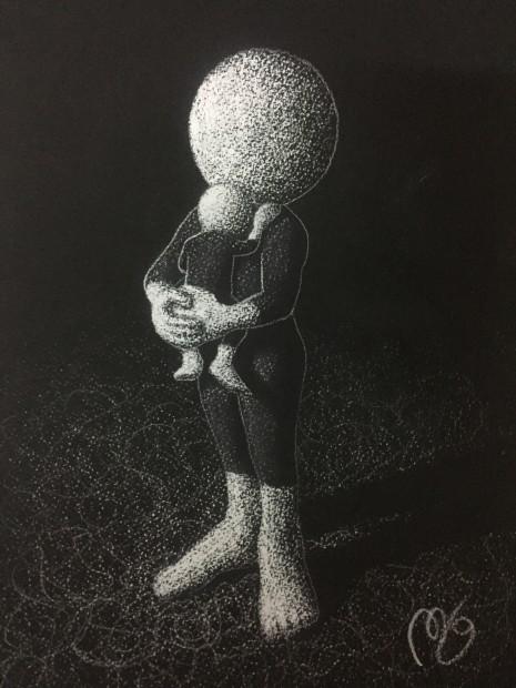 Mark Grieves, Close To The Heart - Original Sketch, 2017