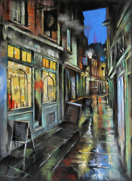 Marc Gooderham, Lonesome Street (other end of Artillery passage)