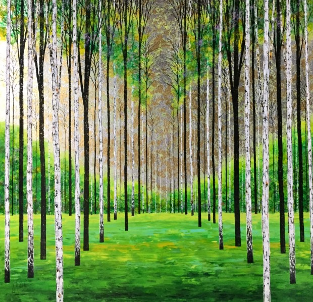 Alex Jawdokimov, Emerald Coppice, 2017