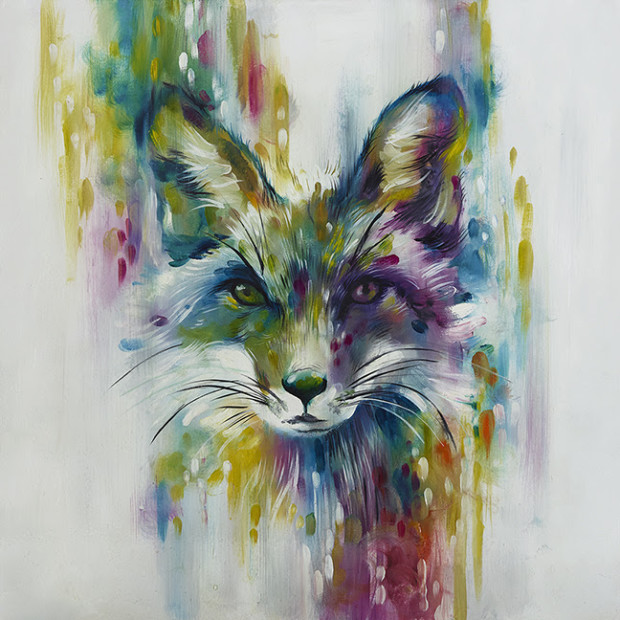 Katy Jade Dobson, Fox - Chase - Small, 2018
