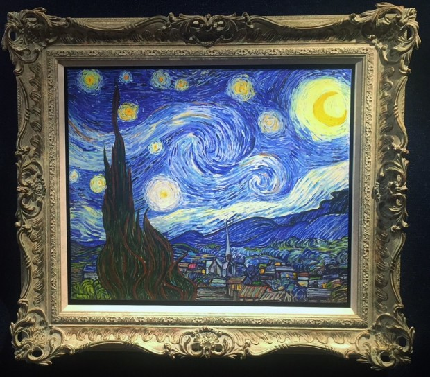Peter Osborne, Vincent Van Gogh - Starry Night, 2017