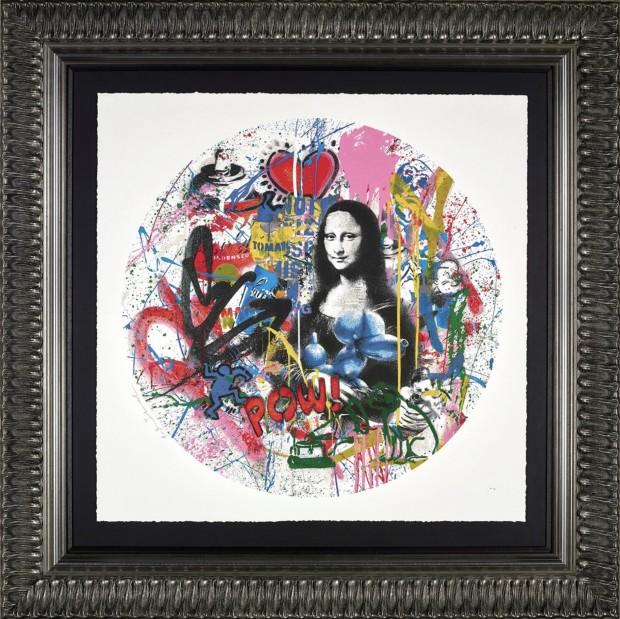 Mr Brainwash, Roundabout - Mona Lisa, 2021