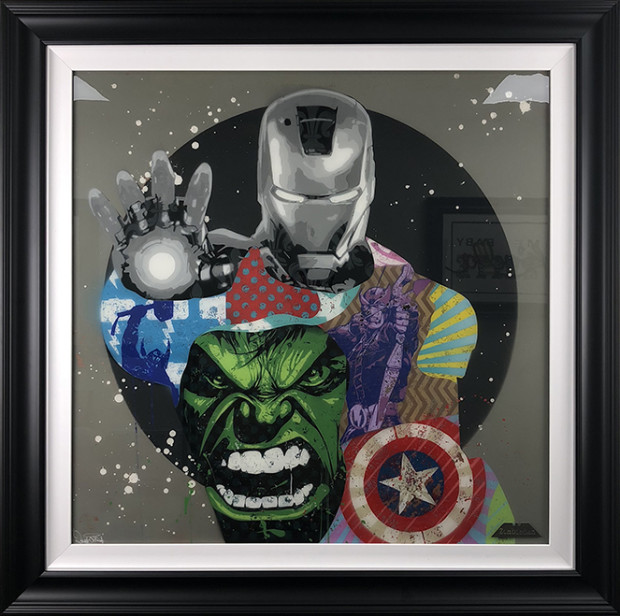 ZombieDan, Avengers Original - 3, 2018