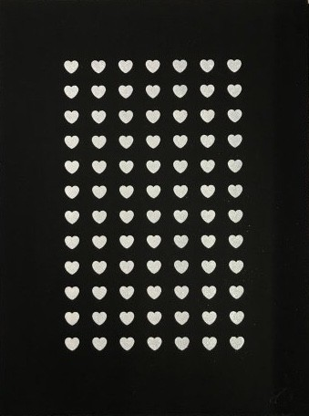 RYCA - Ryan Callanan Love Is The Drug Silkscreen Mono Print Edition Edition With Diamond Dust Elements Framed Size: 26 5/8 x 34 1/4 in Framed Size: 67.5 x 87 cm