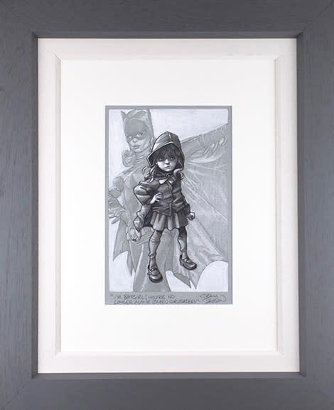 Craig Davison, Gotham Girl - Sketch , 2020