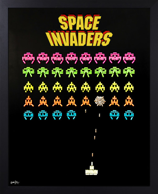Emma Gibbons, Space Invaders, 2021