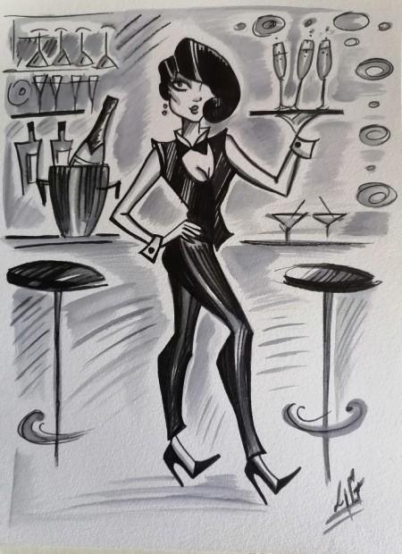 Laëtitia Guilbaud, The Waitress, 2021