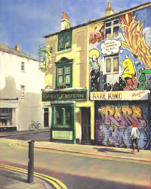 Marc Gooderham, A Brighton Series -Trafalgar Street Print , 2018
