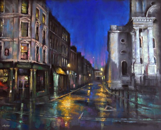Marc Gooderham, Fournier Street, Spitalfields, 2021