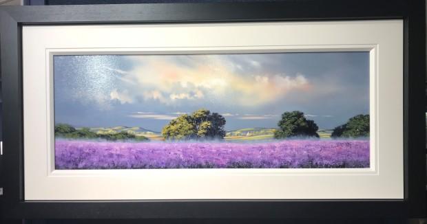 Allan Morgan, Blooming Lavender, 2018