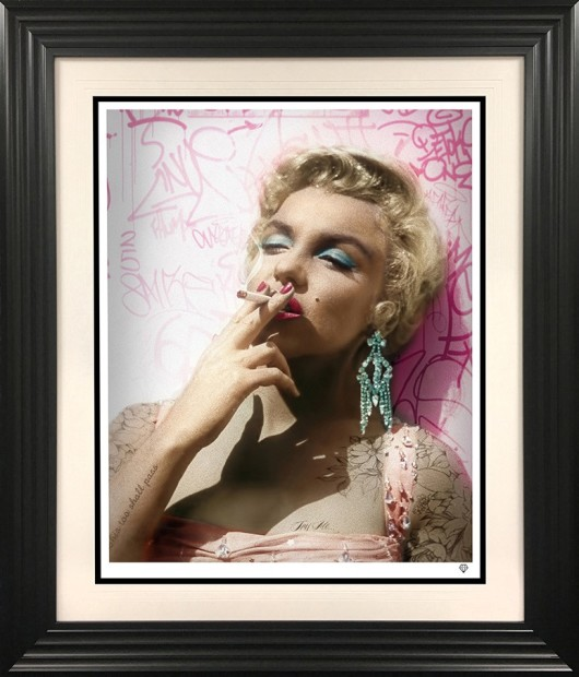 JJ Adams, Smoking Gun - Marilyn, 2021
