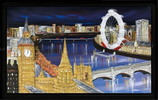 Edward Waite, An Evening In London, 2019
