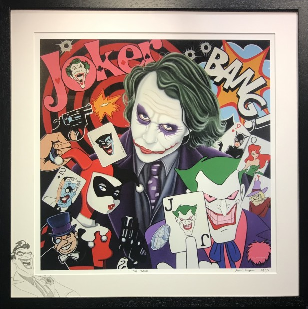 Marie Louise Wrightson, The Joker, 2021