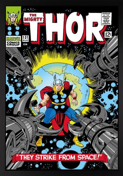 Marvel/ Stan Lee, The Mighty Thor #131 - They Strike From Space! - Boxed Canvas Edition , 2015