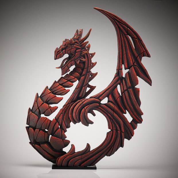 Matt Buckley, Heraldic Dragon - Red, 2018