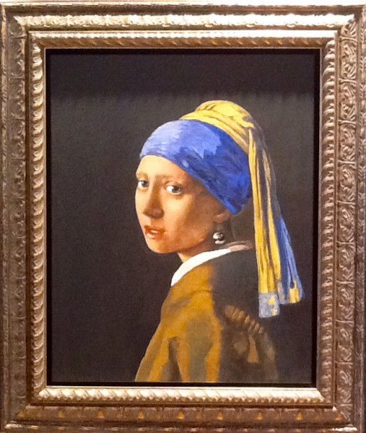 Peter Osborne, Vermeer - Girl With A Pearl Earring, 2017