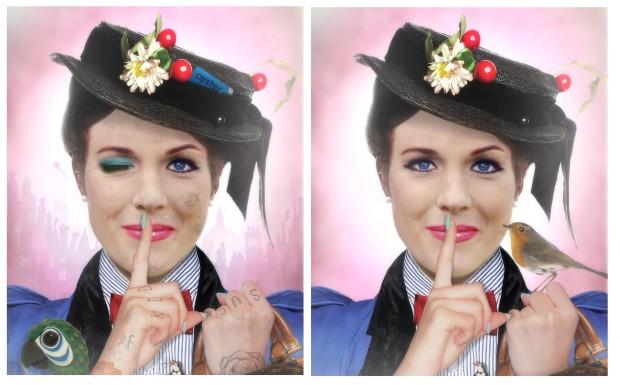 JJ Adams, Mary Poppins Spoonful Of Sugar - Lenticular, 2018