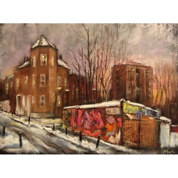 Marc Gooderham, London Snow