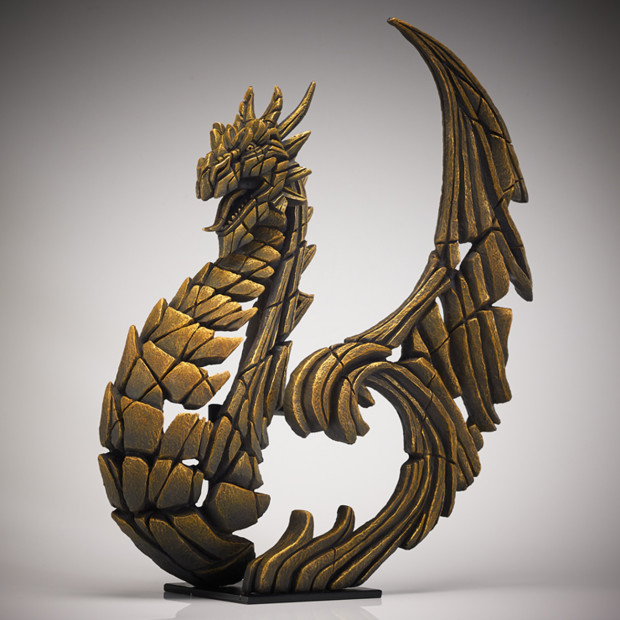Matt Buckley, Heraldic Dragon - Golden , 2018