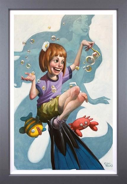 Craig Davison, Under The Sea - Canvas, 2020