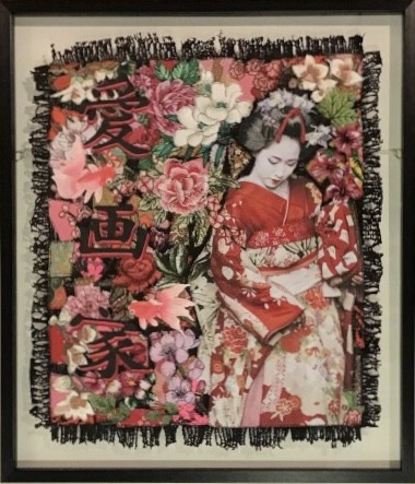Roberta Roman, Geisha Girl - Original, 2019