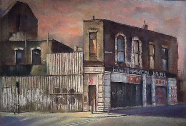 Marc Gooderham, Elder Street, Spitalfields, 2017