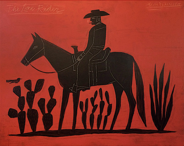 Jon Flaming, Lone Rider , 2016