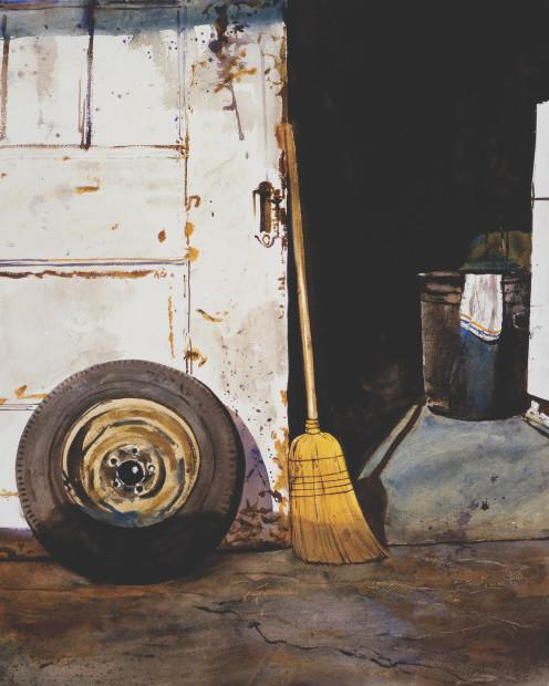 Daniel Blagg, Tire Sale, 1982