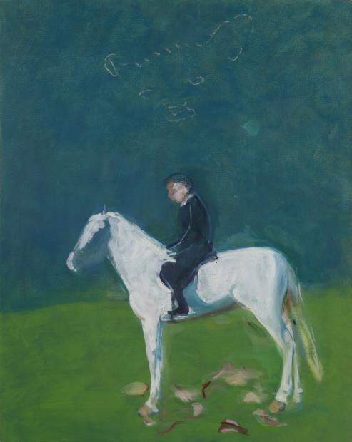 Susan Harrington, Rider on White Horse, 2018