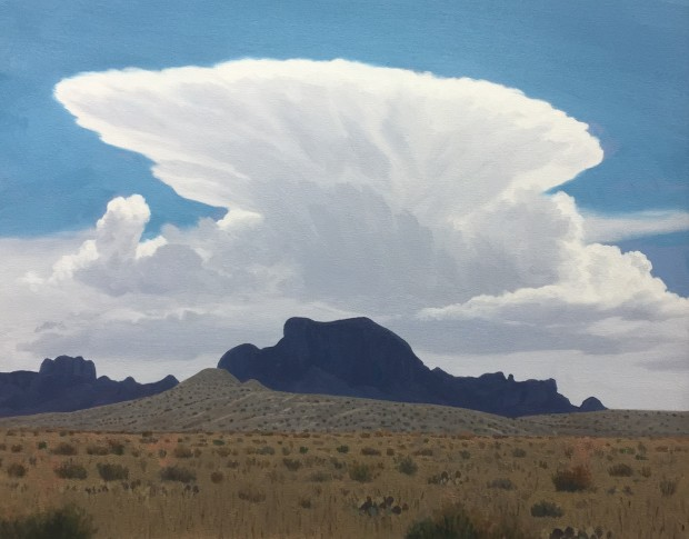 Dennis Blagg, Angel Cloud Over Alsate, 2018
