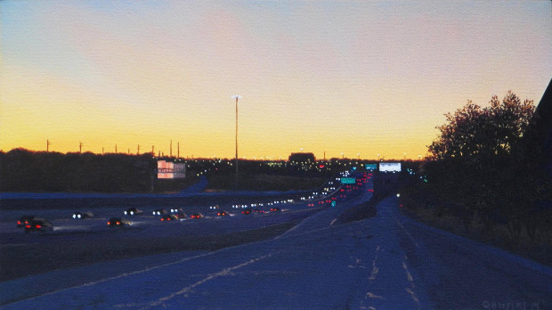 Pat Gabriel, Driving in Fort Worth 17, 2014