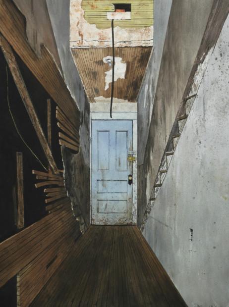 Daniel Blagg, The Studio Door, 2008