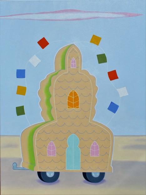 Peter Harrington, Mahayana Recreational and Contemplative Vehicle, 2016