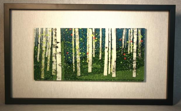 Leslie Friedman, In the Meadow of Aspens, 2020