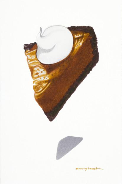 Nancy Lamb, Caramel Cheesecake , 2020
