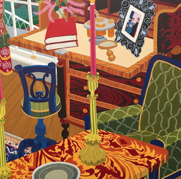 Cindi Holt, The Library, 1998