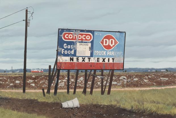 Daniel Blagg, Way to Midland, 2008