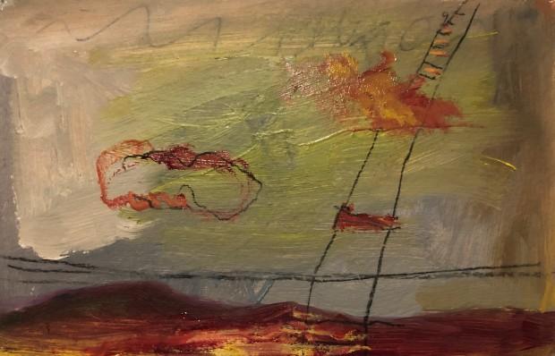 Winter Rusiloski, Cloud Ladder, 2019