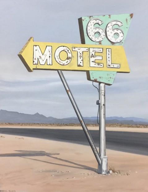 Daniel Blagg, Motel 66, 2018