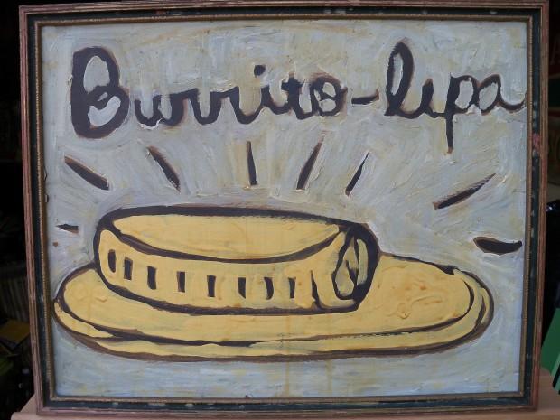 Paul Valadez, burrito-lupa, 2020