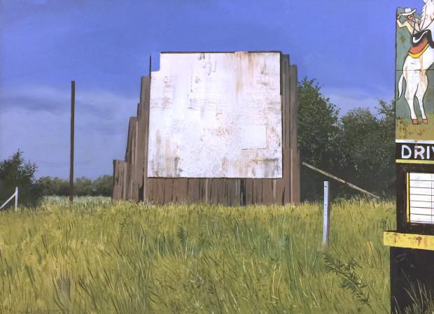 Daniel Blagg, Drive in Western, 2018