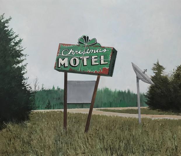 Daniel Blagg, Xmas Motel, 2020