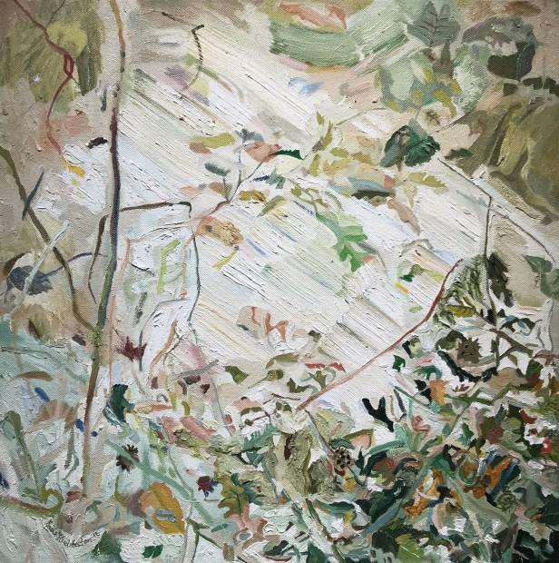 Erika Huddleston, Landscape Recording Static/Dynamic: Central Park, The Ramble IV, 2018