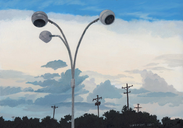 Pat Gabriel, Sky and Eyeballs, 2017