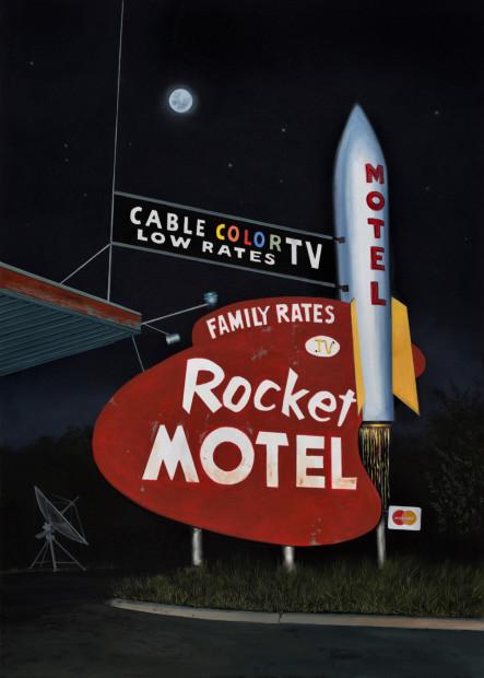 Daniel Blagg, Rocket Motel, 2016