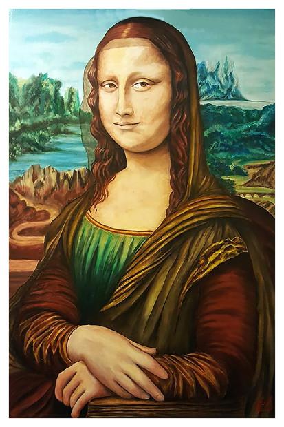Rodney Butler, Mona Lisa, 2020
