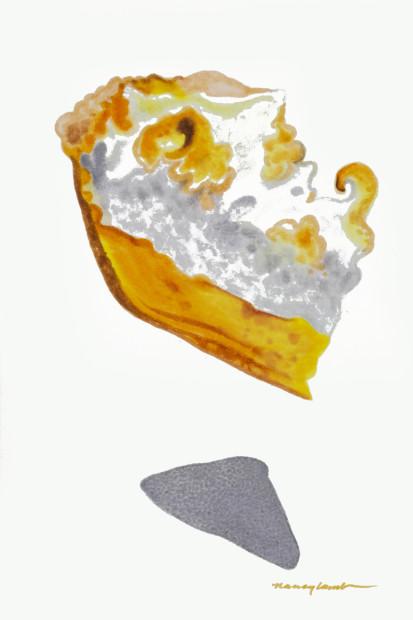 Nancy Lamb, Boston Cream Pie, 2020